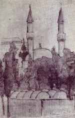 The Mosque of Sultan Salim in Damascus